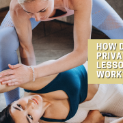 How does a private yoga lesson work?