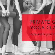 Private group yoga classes