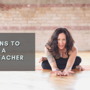 3 reasons to become a yoga teacher