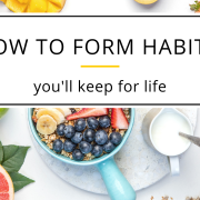 how to form habits